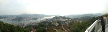 The view from the top of the mountain in Onomichi.