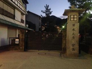 Welcome into the gates of Miyajima.
