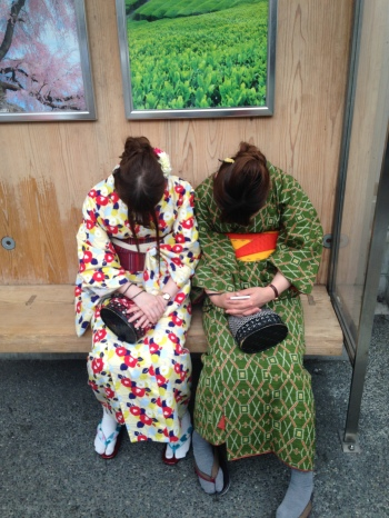 Bus Stop in Japan